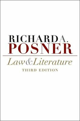 Law and Literature by Richard A. Posner 9780674032460 (Paperback, 2009)