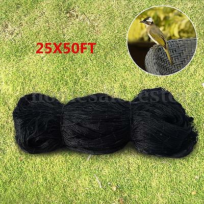 25' X 50' Anti Bird Netting Soccer Game Garden Plant Poultry Avaiary Net Mesh