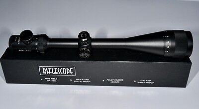 Vector Optics Colossus 10-40x50 Tactical Hunting Rifle Scope, Rangefinder 1/4MOA