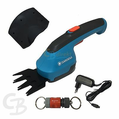 Gardena Rechargeable Battery - Grass shears mit Keyring AccuCut Li 9850-32