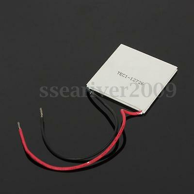 50mm TEC1-12726 Thermoelectric Cooler Peltier Cooling Plate Heatsink 12V 400W