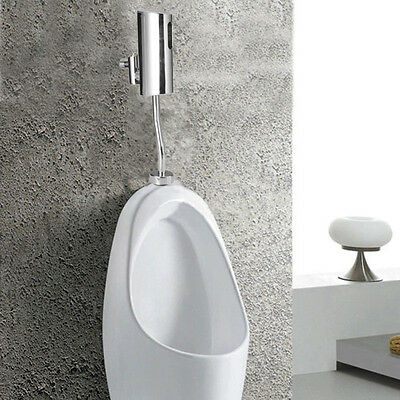 New Fully-automatic Mounted Toilet Auto Urinal Flush Valve Infrared Touchless