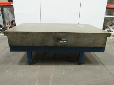 "ROCK OF AGES 96""X60""X13-1/2"" 2 LEDGE Granite Surface Plate S&P"