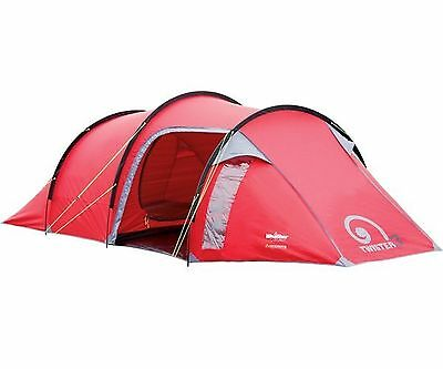 New Gelert Twister 3 Man / Person Tent Family & Festival Camping - FREE P&P