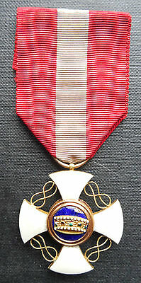 Italy : Knight In The Order Of The Crown