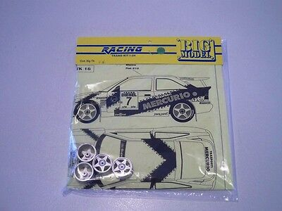 1/24 TK Ford Escort RS MERCURIO Rally 1993 KIT montaggio RARO limited Racing43