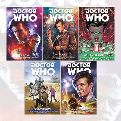 Doctor Who: The Eleventh Doctor Series Volume(1 to 5) 5 Books Collection Set New
