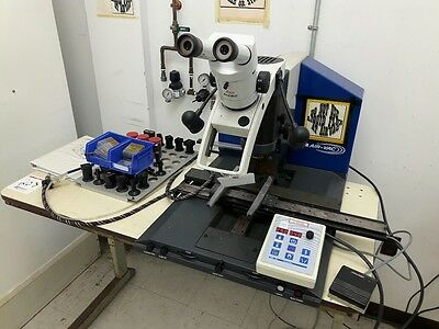 Air-Vac DRS22 Repair Station, w/ Leica Wild M3Z Microscope, w/ Spare Nozzles