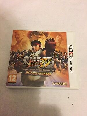Street Fighter IV Super.3D.Nintendo 3DS.EMPTY CASE ONLY.NO GAME INCLUDED.