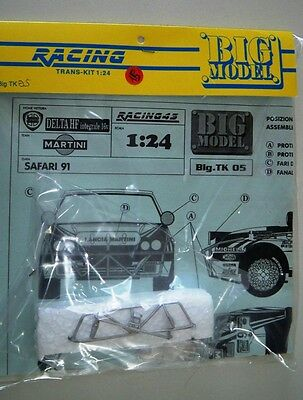 1/24 TK Lancia Delta 16V MART*NI Rally '91 KIT montaggio RARO limited Racing 43