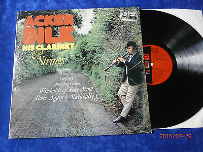 "LP ACKER BILK HIS CLARINET and STRINGS ""  PYE ARIOLA  1972"