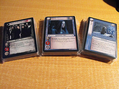 Lord of the Rings Tcg Momente von Fangorn komplettes Set mit 120 Karten