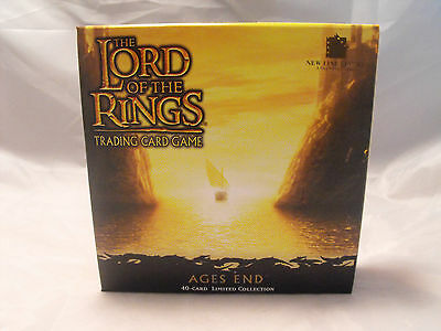 Lord Of The Rings Tcg Alter End Versiegelter Karton