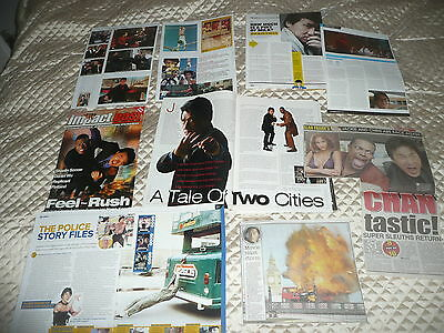 JACKIE  CHAN  approx 40  pictures and articles