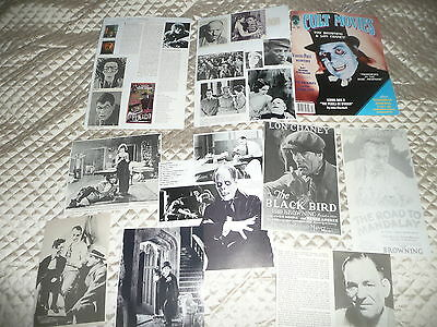 LON  CHANEY  approx 30  pictures and articles