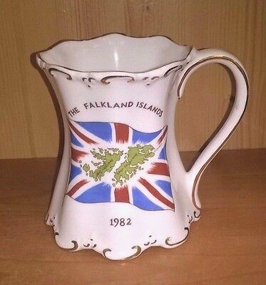 Mug to Commemorate the Liberation The Falklands Islands,  St George Pottery 1982