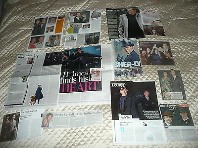 BENEDICT  CUMBERBATCH.. approx 40  pictures and article