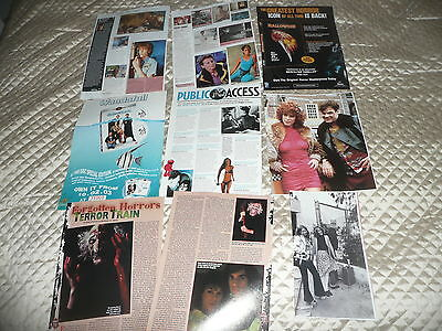 JAMIE LEE  CURTIS.. approx 30  pictures and article