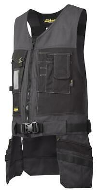 Snickers 4254 Utility Work Toolvest, Canvas+ STEEL GREY