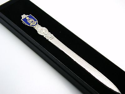 The Royal Horse Artillery Badge Letter Opener Military Gift In Box