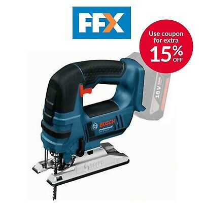 Bosch 06015A6101 18V Professional Cordless Jigsaw Bare Unit in L-Boxx