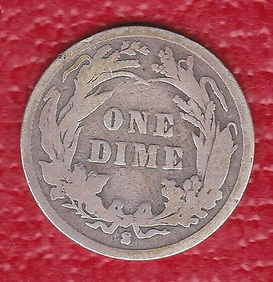 1897 s Barber Dime **BETTER DATE**