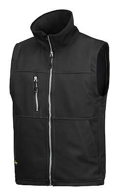 Snickers 4511 Breathable Water-Resistant Softshell Gilet Bodywarmer BLACK