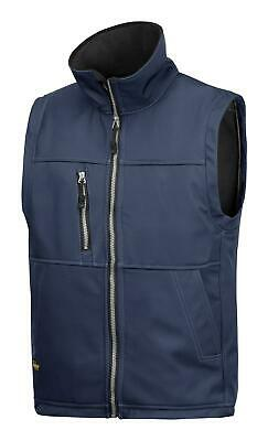 Snickers 4511 Breathable Water-Resistant Softshell Gilet Bodywarmer NAVY BLUE