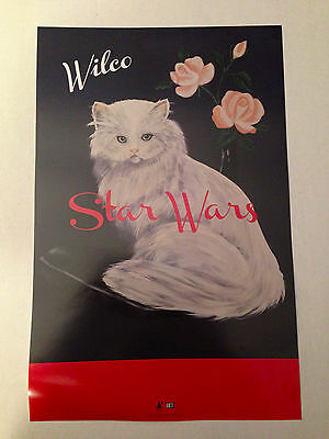 "WILCO PROMO 11""x17"" Poster for STAR WARS Album Mint"