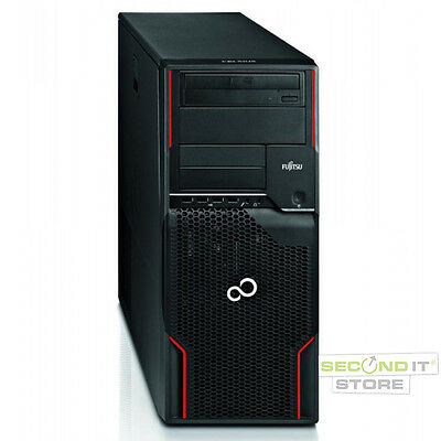 Fujitsu Celsius W510 Power Workstation Xeon Quad 4x 3,2GHz 8GB RAM 1TB HDD Win7