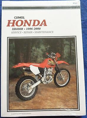 Honda XR400R Clymer Workshop Manual