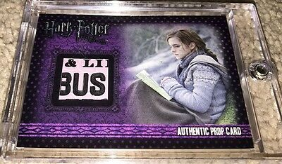 Harry Potter Artbox The Life and Lies of Albus Dumbledore Book Variant P11 Prop