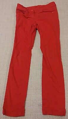 """""""Next"""" Girls Red Trousers 8 Years"""