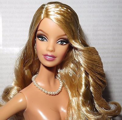 Nude Barbie ~ Blonde 135Th Kentucky Derby Model Muse Aphrodite Doll For Ooak