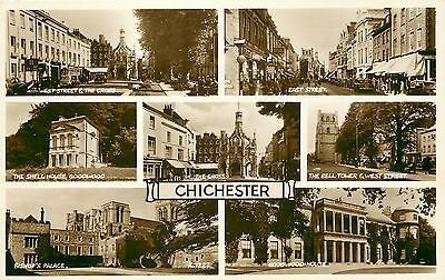 s07684 Chichester, Sussex, England RP postcard unposted