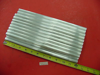"100 Pieces 1/2"" ALUMINUM 6061 ROUND ROD 12"" long Solid T6511 Lathe Stock .50"""