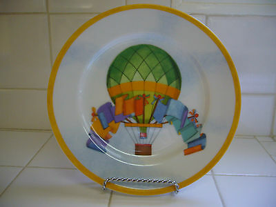 New Williams-Sonoma Montgolfiere Hot Air Balloon Salad Plate 7 3/4""