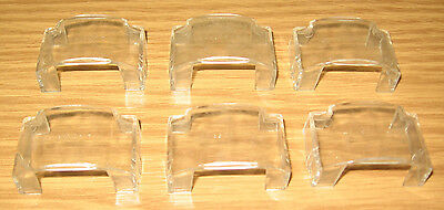 Lionel American Flyer Parts: Clear Diesel Cab Window Insert S Gauge Trains Lot