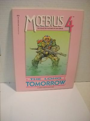 Moebius 4 The Long Tomorrow Epic Comics GN RARE English collected fantasies
