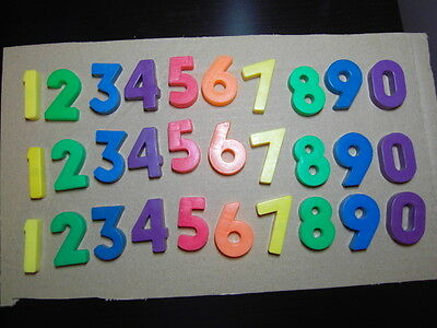 VINTAGE FISHER PRICE LITTLE PEOPLE 3 sets NUMBER 0 to 9