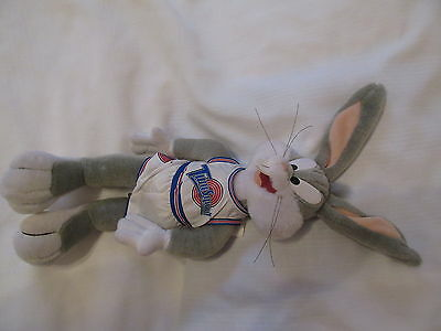 1996 WB BUGS BUNNY SPACEJAM Looney tunes Tune Squad Basketball Player Plush DOLL