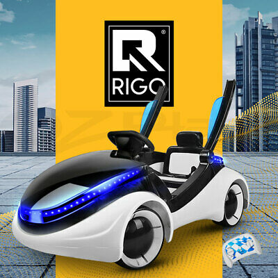 Kids Ride-On Car iRobot Audi Style Sports Electric Toys Remote Battery White
