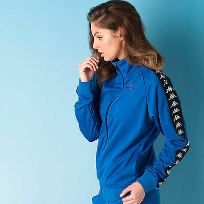 Womens Kappa Womens Heritage Jacket in Blue - 12 From Get The Label