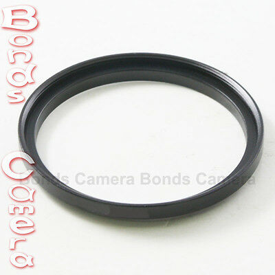 40.5mm-58mm 40.5-58 mm 40.5 to 58 Black Metal Step Up Lens Filter Ring Adapter