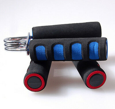 Exercise Fitness Foam Wrapped Handle Hand Forearm Gripper Strengthener Tool