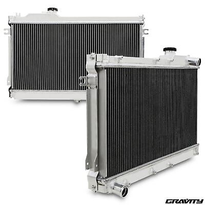 50Mm Alloy Twin Core Race Sport Radiator Rad For Mazda Mx5 1.6 1.8 90-97