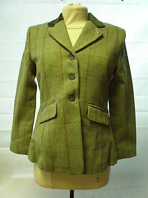 Sherwood Children's Campolino Hacking Show Jacket Check Tweed 3 colours