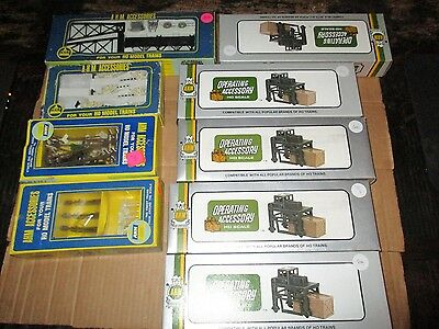 Lot Of Ahm Ho Scale Accessories
