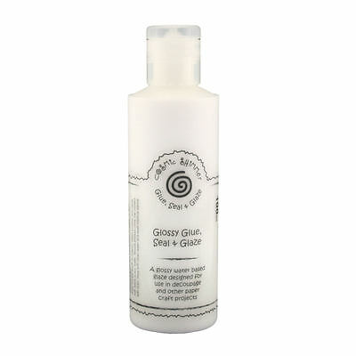 Cosmic Shimmer Glossy Glue, seal and Glaze for Decoupage 100ml