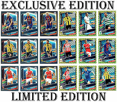 LIMITED EDITION / EXCLUSIVE Match Attax Champions League 2017 card/s 2016/17